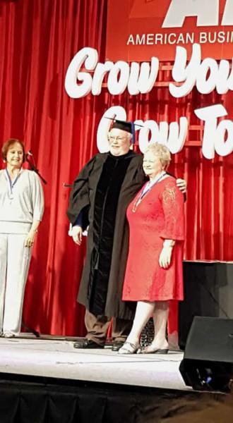 Bessie Graduates through ABWA Training
